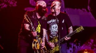 Un Metallica explosivo y un impecable debut para Rancid en la primera fecha Lollapalooza