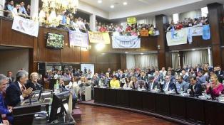 """Rodríguez Saá dijo estar dispuesto a """"una relación madura"""" con las autoridades nacionales"""