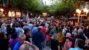 También hubo marchas por la Democracia en varias ciudades del país