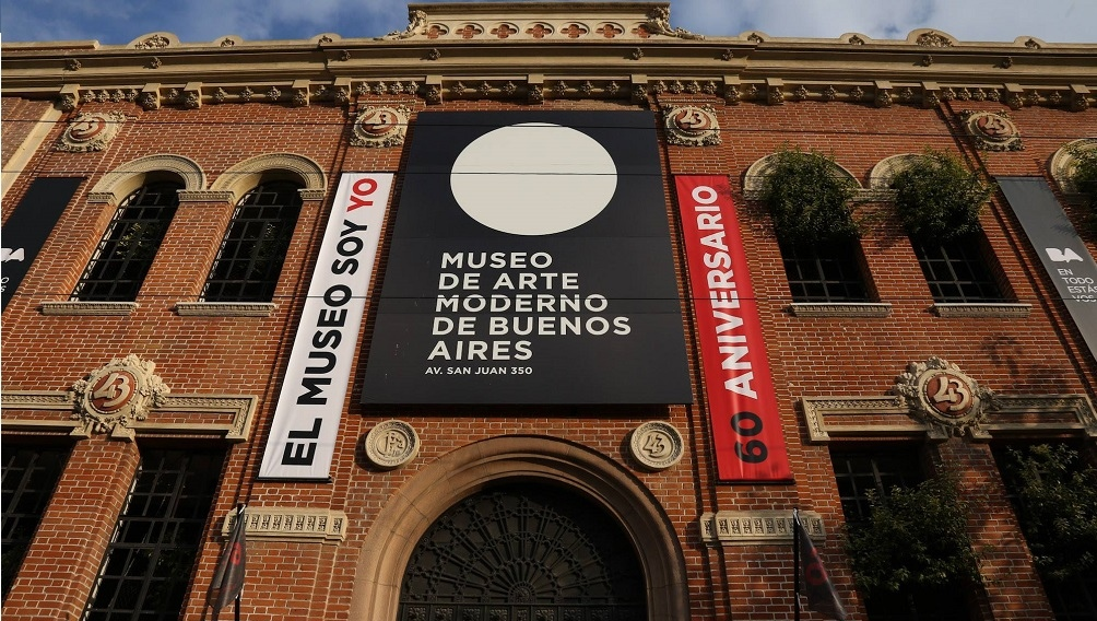 Fachada del Museo en Buenos Aires