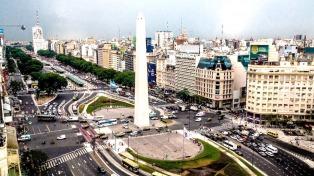 Sábado con lloviznas en la ciudad de Buenos Aires
