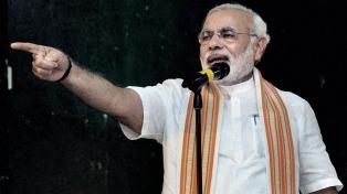 Modi defiende el quite de autonomía a Cachemira en el Día de la Independencia