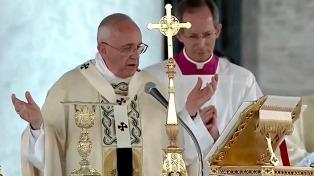 Francisco celebró una misa con los sacerdotes chilenos víctimas de abusos