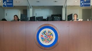 La OEA rechazó los actos violentos en la campaña por la consulta popular