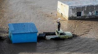 Un muerto y más de 11.000 evacuados por los temporales desde hace 9 días en cinco provincias