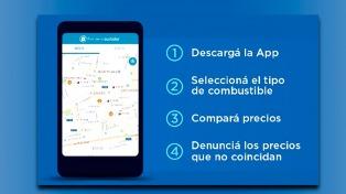 Una app para consultar el precio de la nafta de 4.600 estaciones de servicio de todo el país