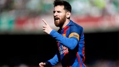 Barcelona, con Lionel Messi, comienza el año ante Espanyol en el clásico catalán - Télam - Agencia Nacional de Noticias