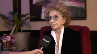 """Norma Aleandro: """"Dirijo sabiendo que la creación la hace el actor y no el director"""""""