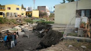 El Banco de Chubut promete líneas de crédito para comerciantes afectados por el temporal