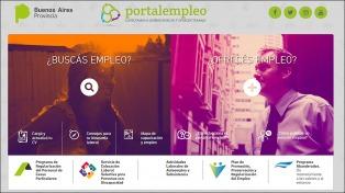 El gobierno bonaerense puso en marcha un portal de intermediación laboral
