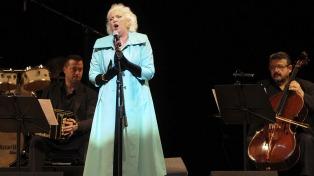 Susana Rinaldi cierra mañana en el Tasso los festejos por sus 60 años con el tango