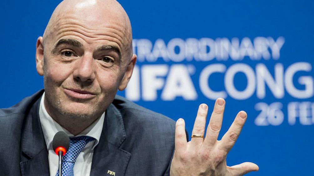 Infantino afirmó que el fútbol genera 200 mil millones de dólares al año