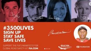 La FIA lanza una campaña mundial sobre seguridad vial con apoyo del Papa