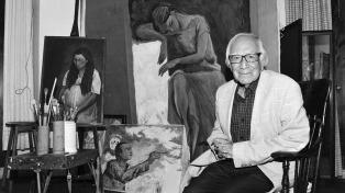 Murió el pintor Arturo García Bustos, discípulo de Frida Kahlo