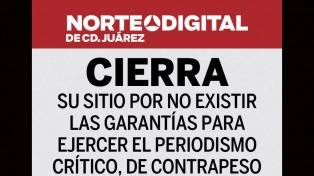 El cierre de un diario mexicano, símbolo de la ola de violencia contra la prensa