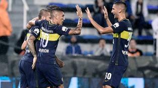 El líder Boca superó a Vélez en Liniers y mantuvo su ventaja