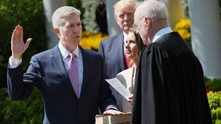 Gorsuch ingresó a la Corte Suprema y Trump obtuvo su primer gran triunfo político