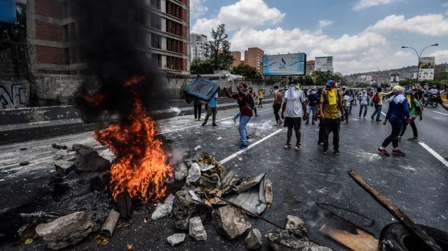 Venezuela: Casi 60 heridos y 18 detenidos en nueva jornada de protestas