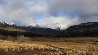 Alerta por vientos intensos en la zona cordillerana central y de la Patagonia norte