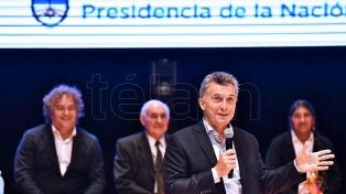 """Macri, ante emprendedores: """"El éxito de ustedes es el camino para reducir la pobreza"""""""