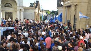 Cientos de personas despidieron a Micaela García en Concepción del Uruguay