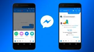 Facebook messenger habilita la función pagos en grupo