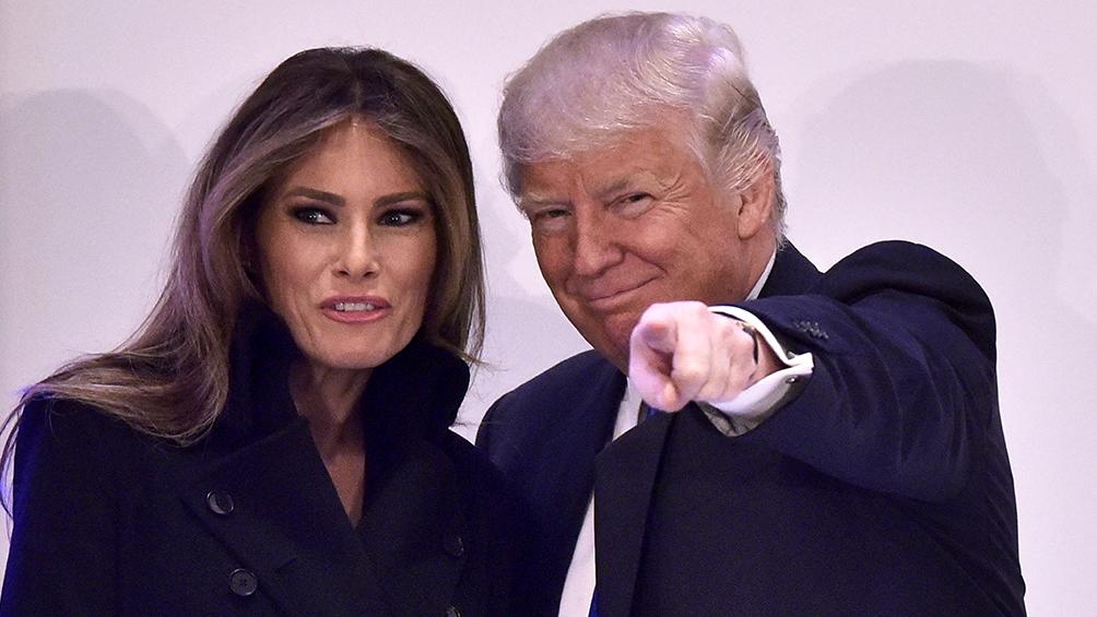 Trump atacó a Vanity Fair porque criticó a Melania por no hablar del coronavirus