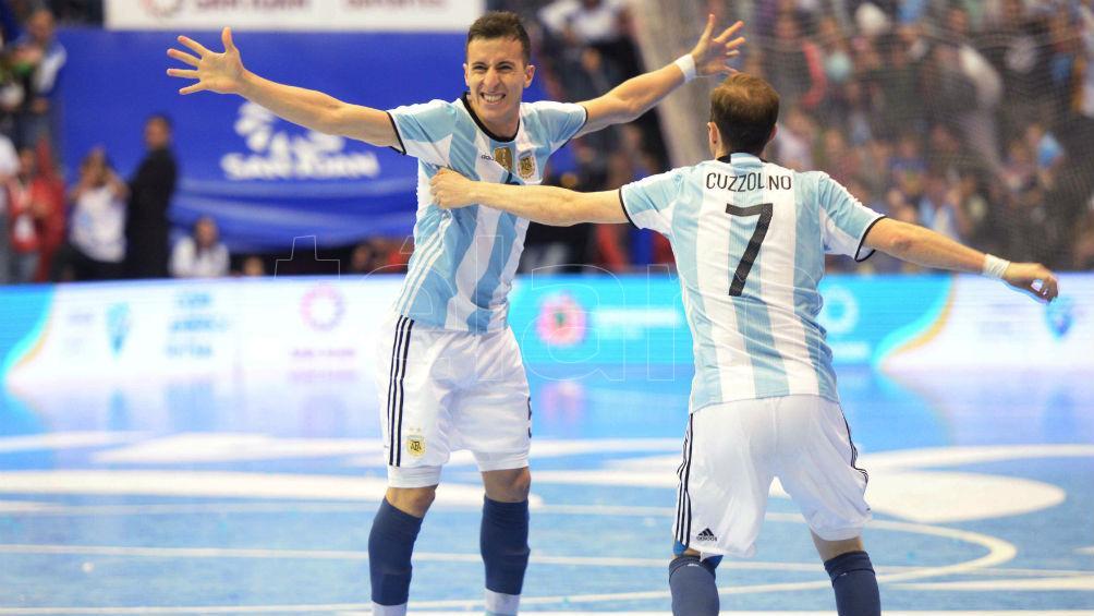 Argentina derrotó a Brasil y se consagró campeón de las eliminatorias de futsal