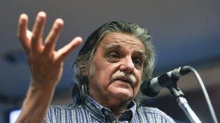 Horacio González será declarado ciudadano ilustre de la Ciudad de Buenos Aires