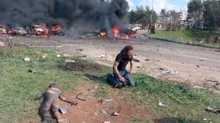 Otro ataque golpea a los desplazados: más de 120 muertos, entre ellos, 68 niños