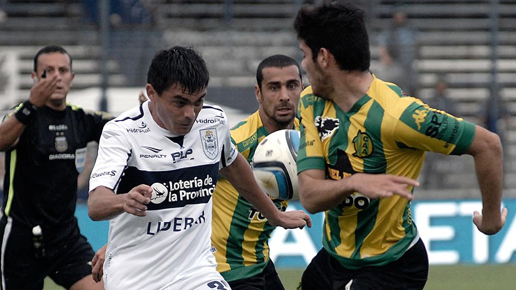 Gimnasia golea a Aldosivi y encadena la tercera victoria seguida de visitante