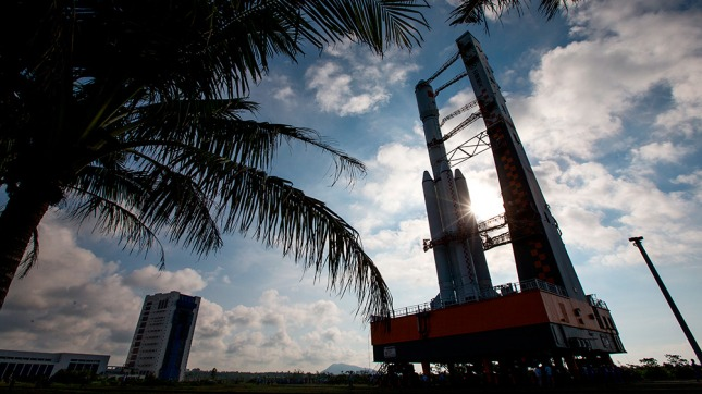 La primera nave espacial de carga china será lanzada esta semana