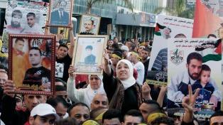 Convocan a una huelga general en apoyo a los presos palestinos