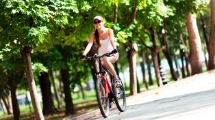 Alumnos bonaerenses crearon un bicicletero invisible