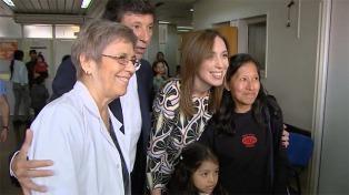 Vidal anunció una baja en los porcentajes de mortalidad materna