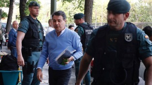 Excarcelan al ex presidente regional de Madrid, sospechado de pagar coimas a la AFA