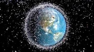 Lanzarán el primer sistema de limpieza de basura espacial