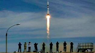 La Soyuz MS-04 despegó con rumbo a la Estación Espacial Internacional