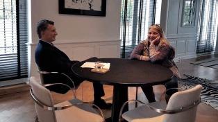 Elisa Carrió visitó a Macri y se reunió con Rodríguez Larreta