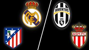 Las semis de la Champions: Atlético de Madrid-Real Madrid y Juventus-Mónaco