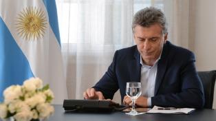 """Macri: """"Los argentinos están cansados de la violencia, de la patota y de la mafia"""""""