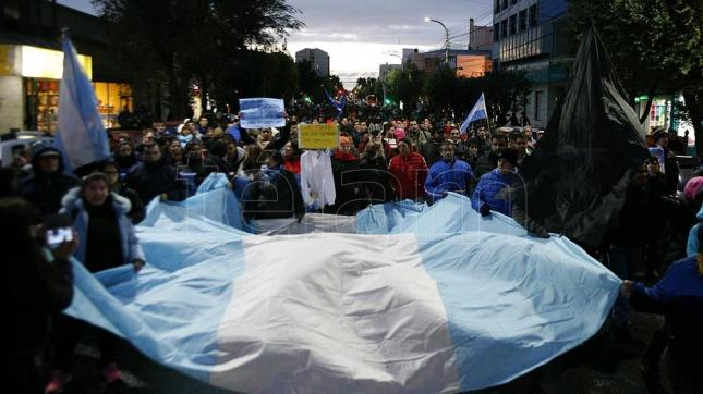 La CTA apoya la protesta de Santa Cruz — Argentina