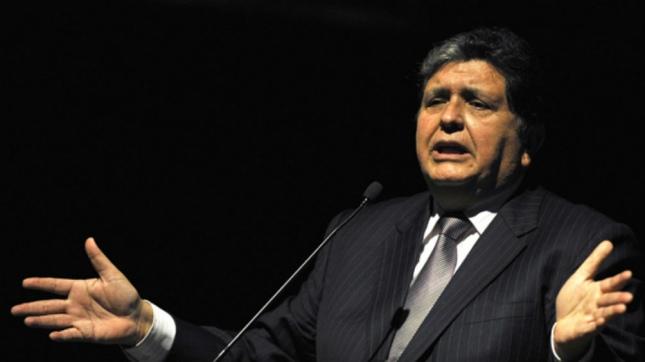 Amplían su investigación y Expresidente pide una acción de amparo — Alan García