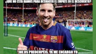 Los memes del triunfo de Barcelona ante el Real Madrid no se hicieron esperar