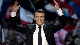 """Macron dijo que """"nunca nada está ganado de antemano"""""""
