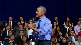 Obama reapareció en Milán para hablar sobre cambio climático
