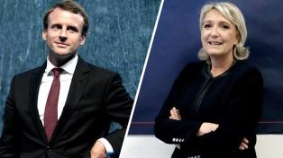 Le Pen se aseguró el apoyo de un partido minoritario y Macron buscó el voto progresista