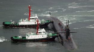 Pyongyang realizó nuevos ejercicios y EEUU envió un submarino nuclear