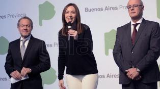 Vidal presentó un organismo anticorrupción bonaerense