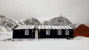 Avanza en la restauración de la primera construcción argentina en la Antártida